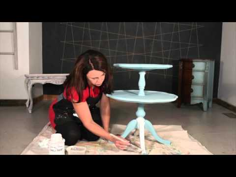Quick Tips: Creating a Two-Colour Wash Effect with Chalk Paint™
