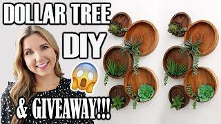 DOLLAR TREE SPRING DIY IDEAS & GIVEAWAY 🌟 Spring Decor 2019