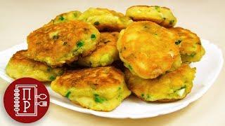 Оладьи с Зелёным Луком и Яйцом | Ленивые Пирожки | Пышные и Мягкие