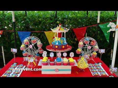 Carnival Theme Party Supplies, Birthday Ideas, Carnival Party - Amy Events