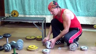 Упражнения с гантелями для похудения в домашних условиях(У нас Вы можете заказать индивидуальную программу тренировок по интернету: http://atletizm.com.ua/personalnyj-trener/uslugi ..., 2014-10-03T15:57:49.000Z)