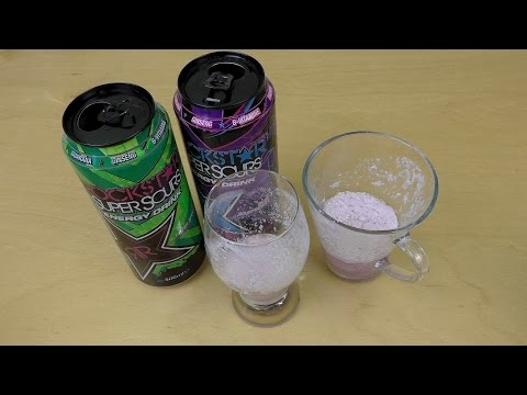 Mixing Rockstar Super Sours Energy Drinks with Milk