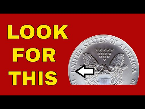 Very Rare 2008 Silver American Eagle Reverse Of 2007 Worth Big Money! How To Know If You Have One?