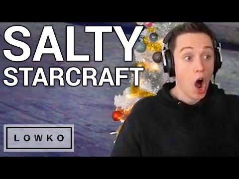 SALTY STARCRAFT 2! (LowkoTV Highlights #23)