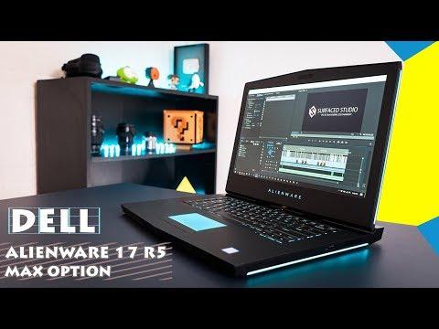 Mở Hộp, đánh Giá Laptop Alienware 17R5 Core I9 Giá 5000$
