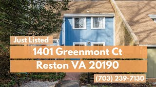 1401 Greenmont Ct Home For Sal…