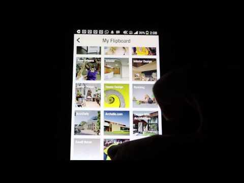 شرح تطبيق Flipboard