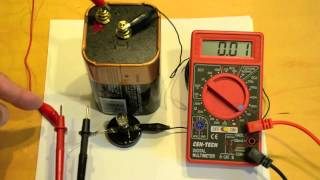 measuring current with a digital multimeter