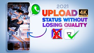 How to upload Hd video on whatsapp status 2021 | Upload status without losing quality 100% working🔥⚡ screenshot 5