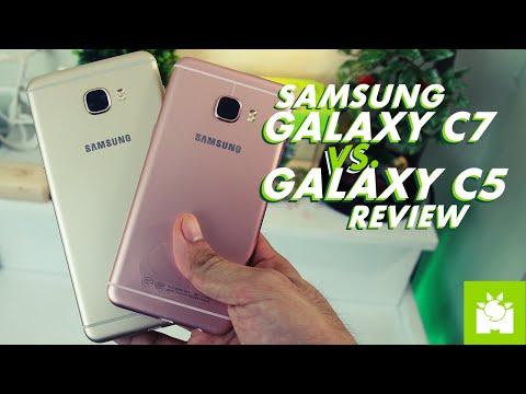 Samsung Galaxy C7 vs C5 Review + Camera Comparison
