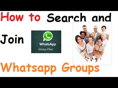 How to search and join whatsapp groups how to join whatsapp group