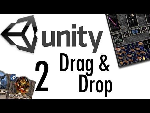 Unity Tutorial - Drag & Drop Tutorial #2 [RPGs, Card Games, uGUI]