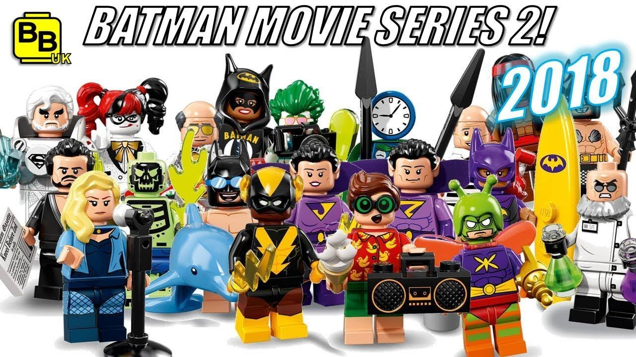LEGO Minifigures Batman Movie Series 2 Complete Full Set of 20 Figures 71020 NEW