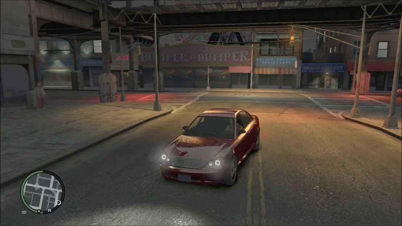 GTA IV Comparison PS3 vs XBOX360 vs PC