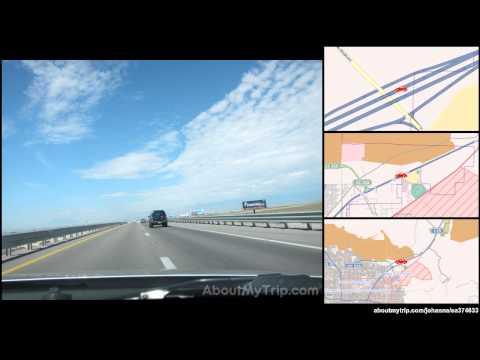 Great Basin Highway (Clark County, Nevada) to Mel Torme Way (Paradise) via North Last Vegas,  (...)