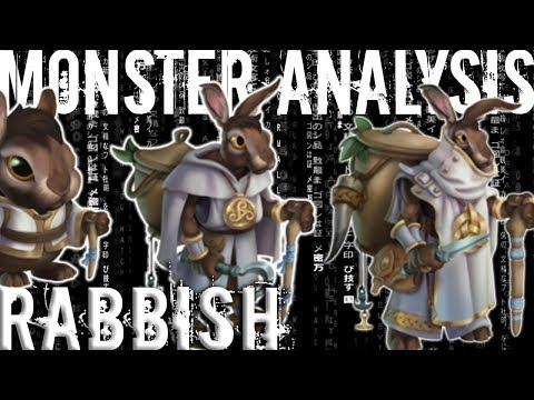 Monster Legends | Monster Analysis | Rabbish | Mercenary Island | Progressive Island