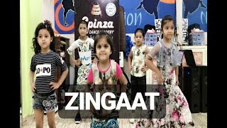 Zingaat |Kids Dance Choreography | SPINZA DANCE ACADEMY