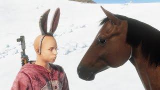 Rust - Как прокачать, кормить, хранить и ездить на лошади!