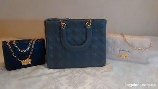 Обзор сумки Dior