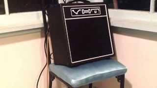 Gambar cover Demo / review of VHT Special 6 hand-wired tube combo amp.
