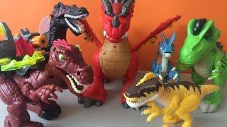 Dinosaurios para niños y Dragón Fisher Price   Kidsplace Town