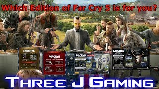 Which edition of Far Cry 5 is for you?