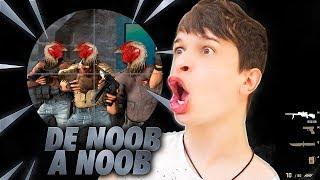 Counter Strike DE NOOB A NOOB: MINHA PRIMEIRA VEZ ‹ ARUAN › #01