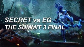 �������� ���� SECRET EG - The Summit 3 Grand Final Dota 2 ������