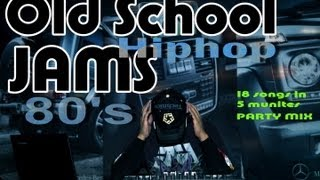 DJ DOD - Old School Hiphop Jams Mix