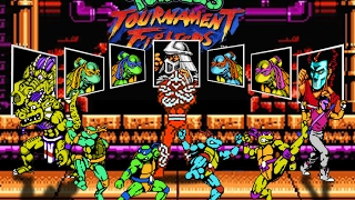 Teenage Mutant Ninja Turtles 4: Tournament Fighters прохождение. Игра на (Dendy, Nes). Cтрим [RUS]