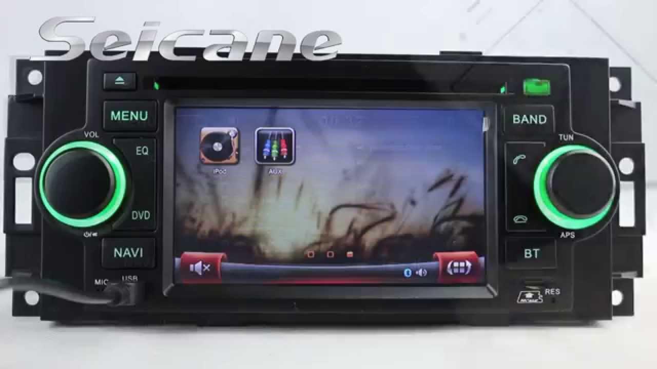 OEM 2003 2004 2005 2006 Jeep Wrangler Autoradio DVD Player with Touch  Screen Navigation Bluetooth AU