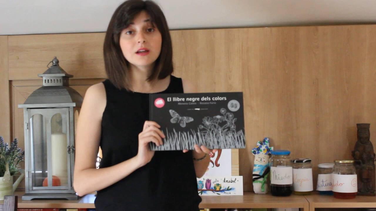 Hoy Leemos: El libro negro de los colores - YouTube