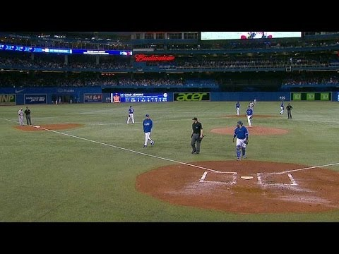 BOS@TOR: Blue Jays pitching coach Walker ejected