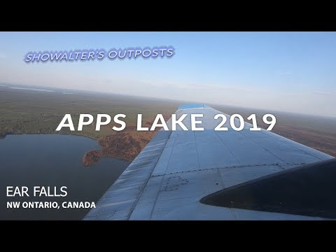 SHOWALTER'S FLY-IN OUTPOSTS | APPS LAKE 2019