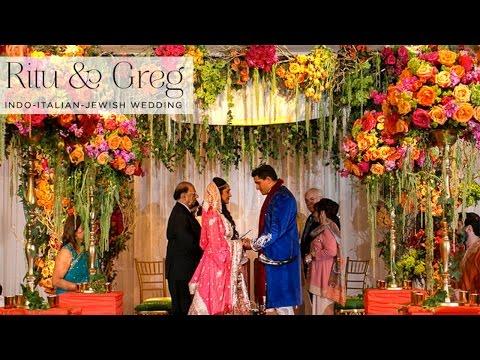 Ritu and Greg | Indian Jewish wedding at The Garden City Hotel, Long Island, New York, USA