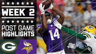 Packers vs. Vikings | NFL Week 2 Game Highlights
