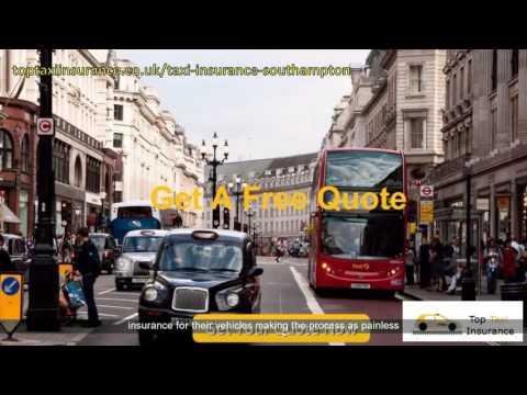 Southampton Cheap Taxi Insurance