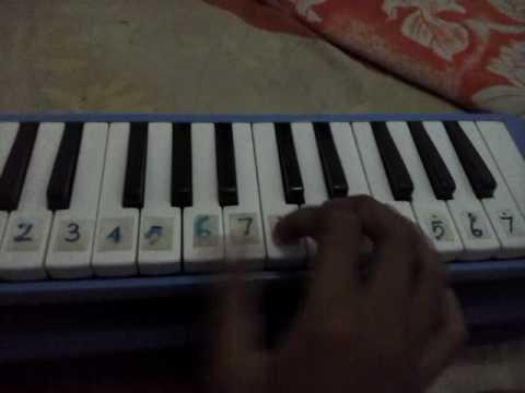 Kebangaan di hatiku /cover pianika