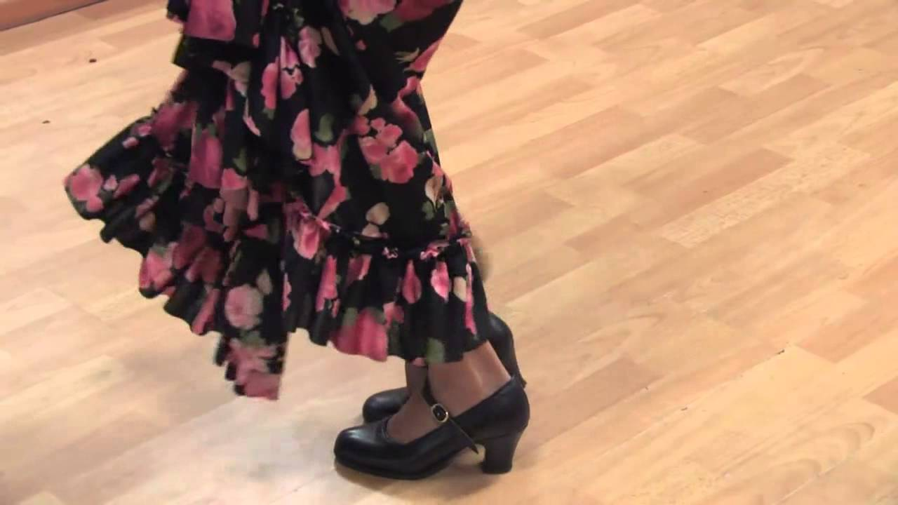 Flamenco Dance Steps And Instructions Youtube