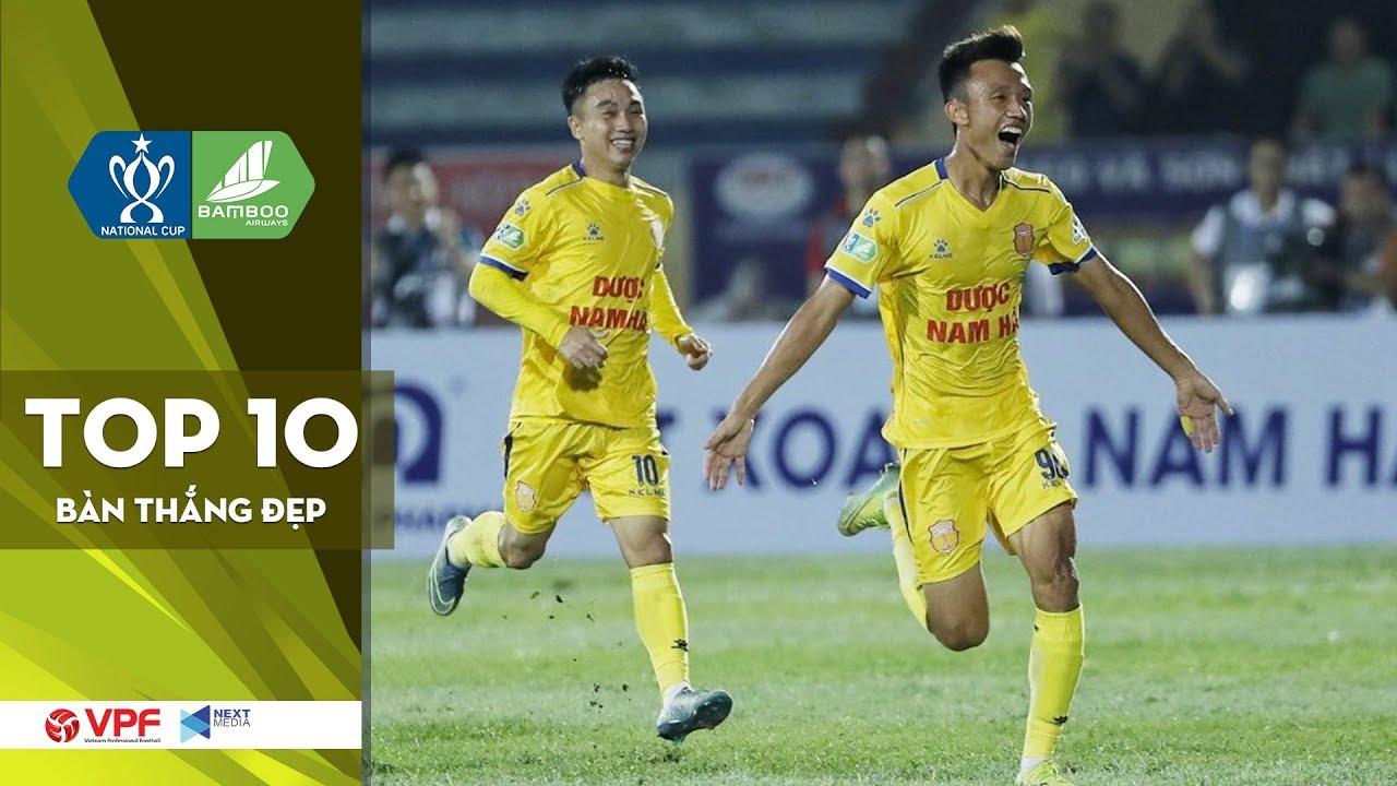Top 10 bàn thắng đẹp nhất Vòng loại Cúp Quốc gia - Bamboo Airways 2020 | VPF Media