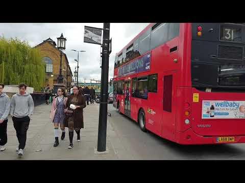 London Camden Market after easing of Lockdown (伦敦市场)