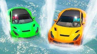 INSANE 300MPH WATER DRIVING! (GTA 5 Races)