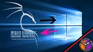 كيف تحرق نظام الكالي لينكس|kali-linux على فلاشة USB وتثبيتة كنظام رئيسي جنبا الى نظام الويندوز