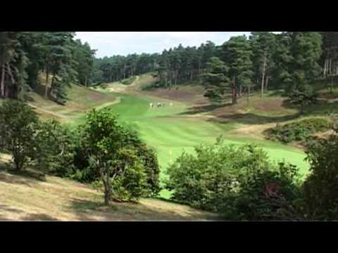 Peter Alliss On Hindhead Golf Course, Surrey, England