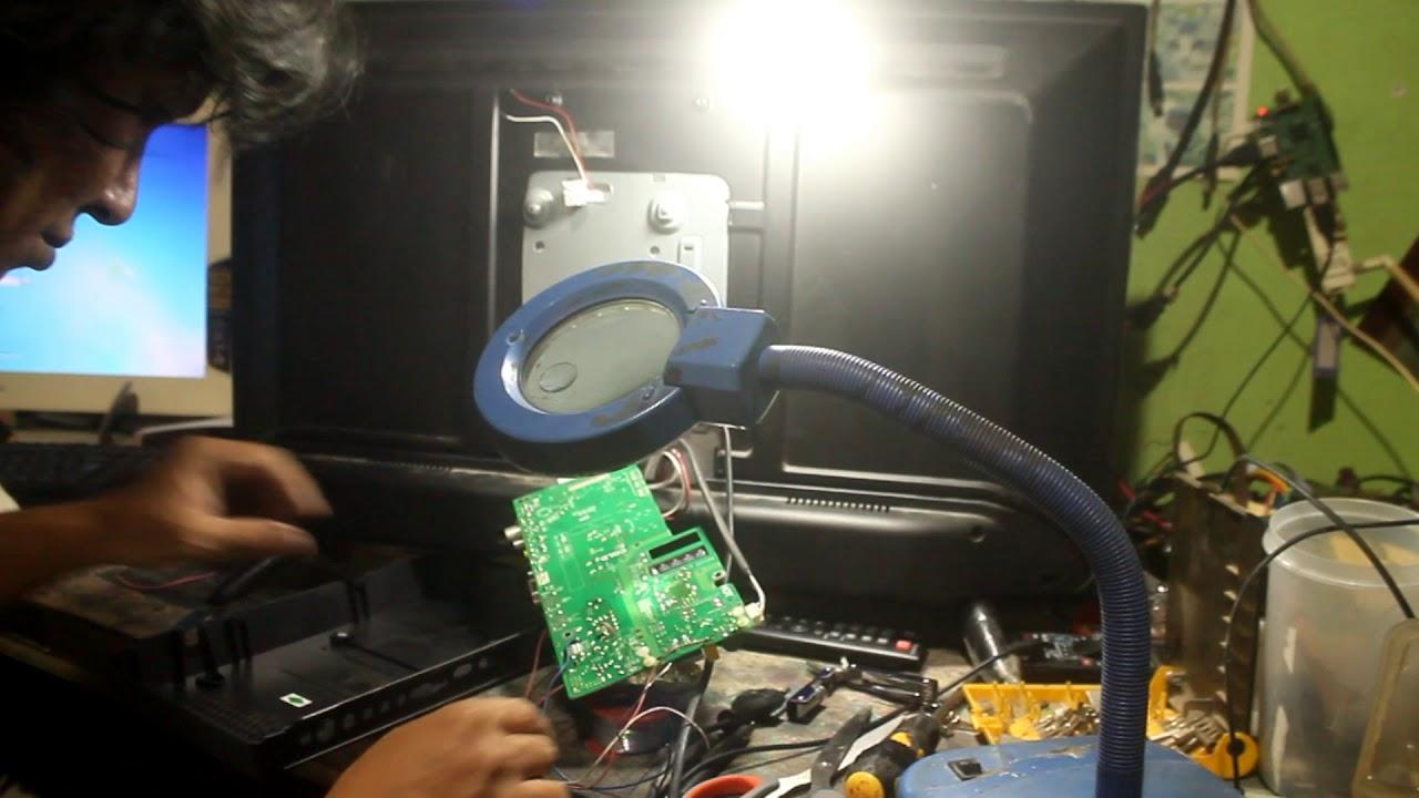 Modifikasi Driver Backlight Tv Led Panasonic Th 32c304g Dengan