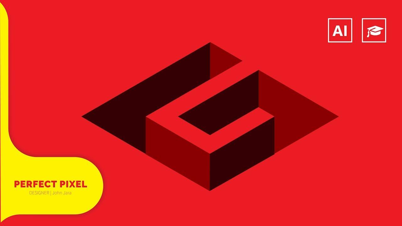 Isometric Logo Glitch By Obispost: Isometric G Logo Design - YouTube