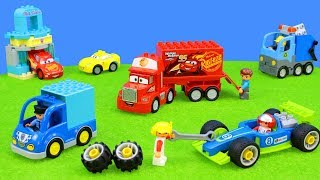 Lego Duplo: Super Toys Unboxing for Kids | Racing Cars, Excavator, Playsets & many Truck Vehicles