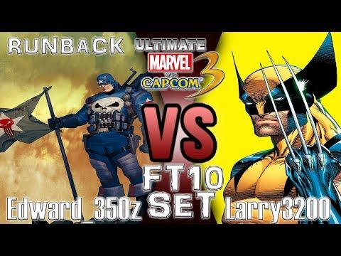 UMVC3 FT10 Set Runback - Edward_350z VS Larry3200
