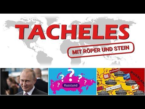 Kritische Fragen zu Russland (Teil 2) - Tacheles-EXTRA #55