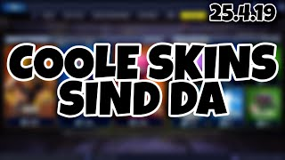 FORTNITE DAILY ITEM SHOP 25.4.19 | COOLE SKINS SIND ZURÜCK!!